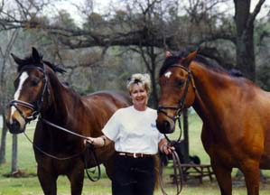 Eventing Horses Murray and OBryan and Susan